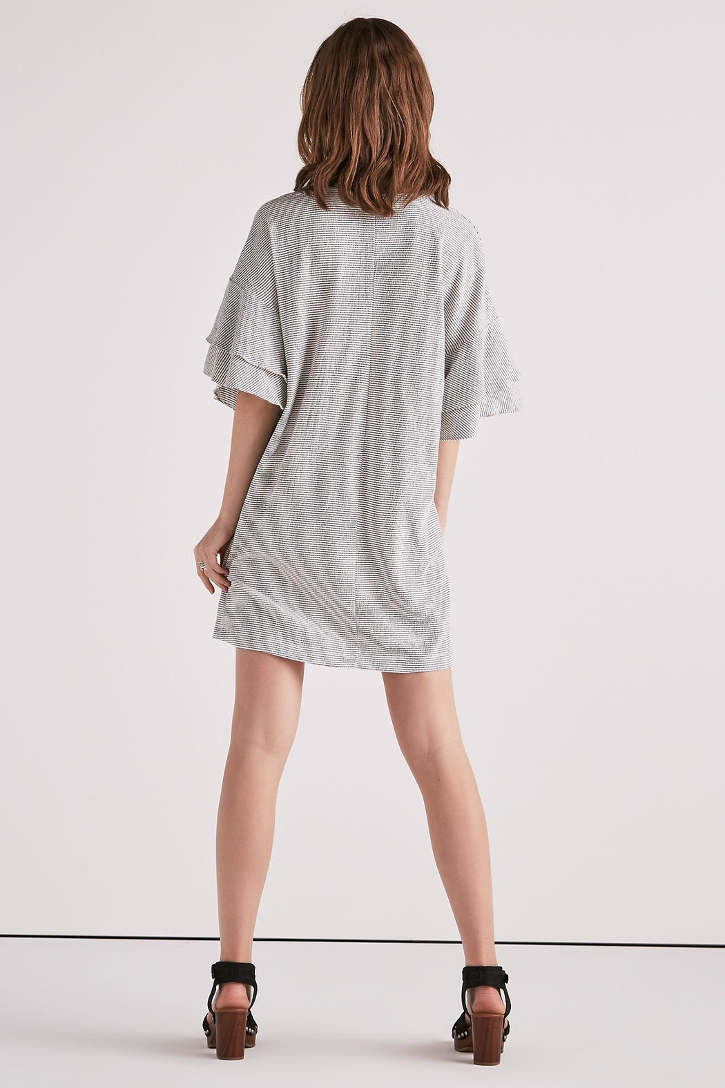 Lucky Brand Layered Ruffle Sleeve - Side Cropped Image