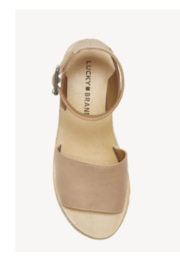 Lucky Brand JOODITH Platform Wedge - Side cropped