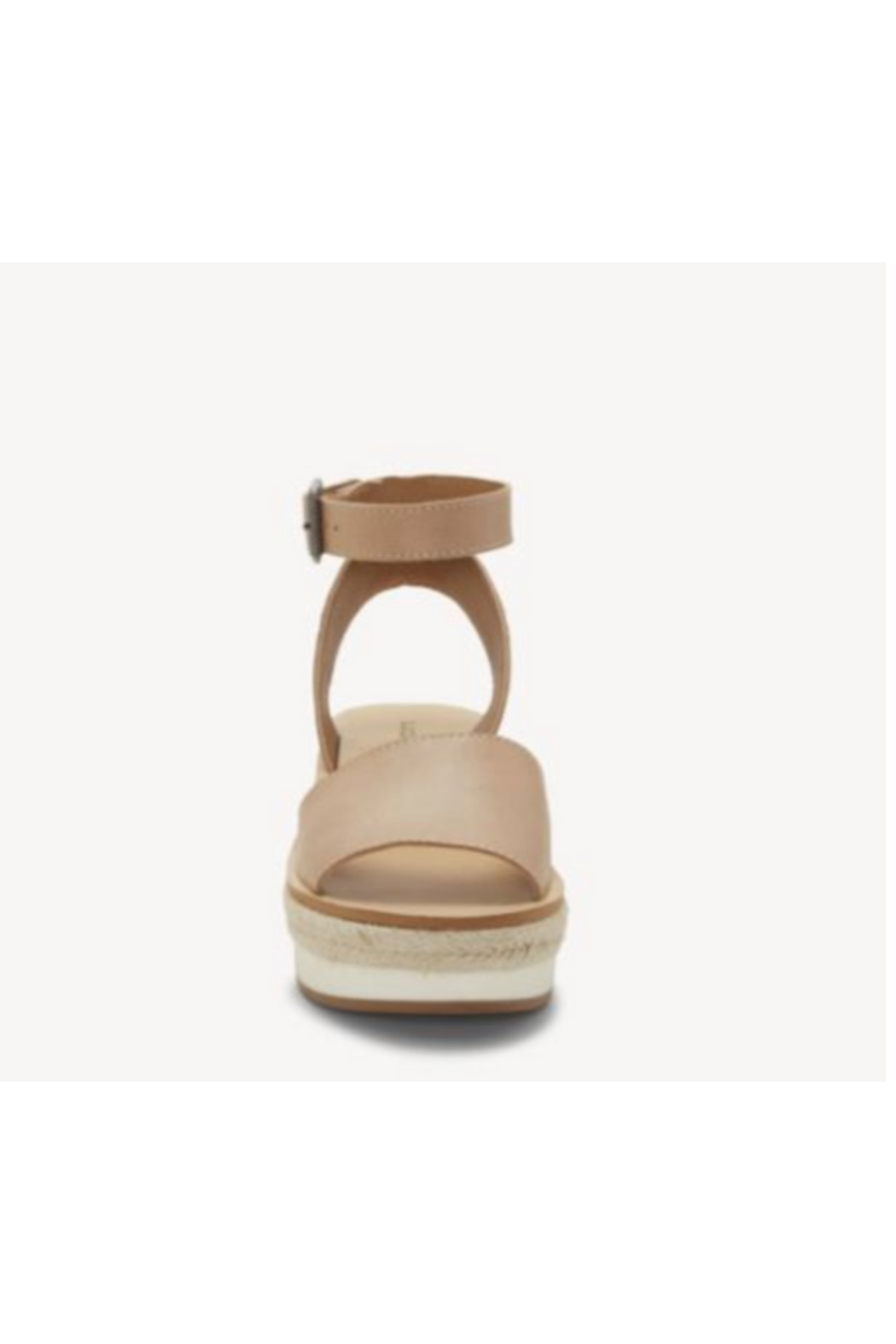 Lucky Brand JOODITH Platform Wedge - Back Cropped Image