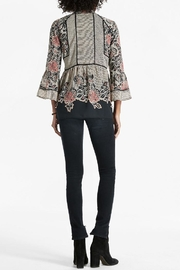 Lucky Brand Mixed Pattern Blouse - Front full body