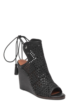 Shoptiques Product: Perforated Black Wedge