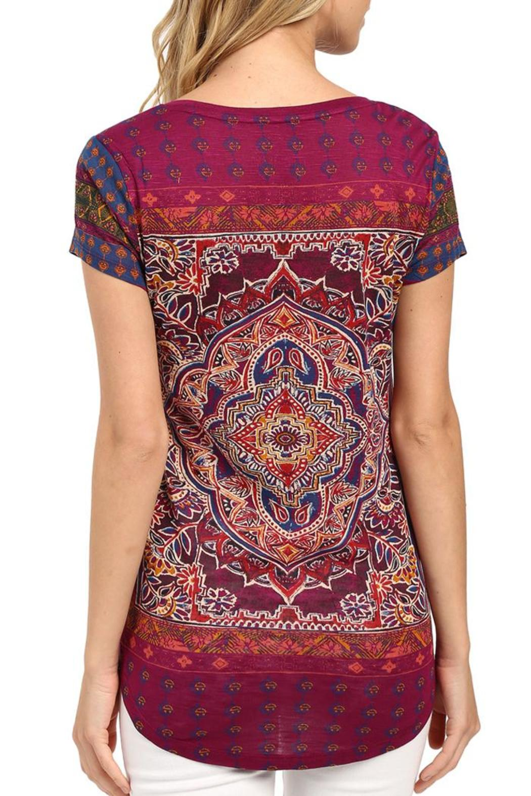 c83857a13b5af Lucky Brand Persian Carpet Tee from Lafayette by Brothers on the ...