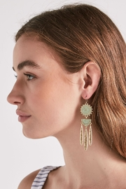 Lucky Brand Petina Chandelier Earrings - Front full body
