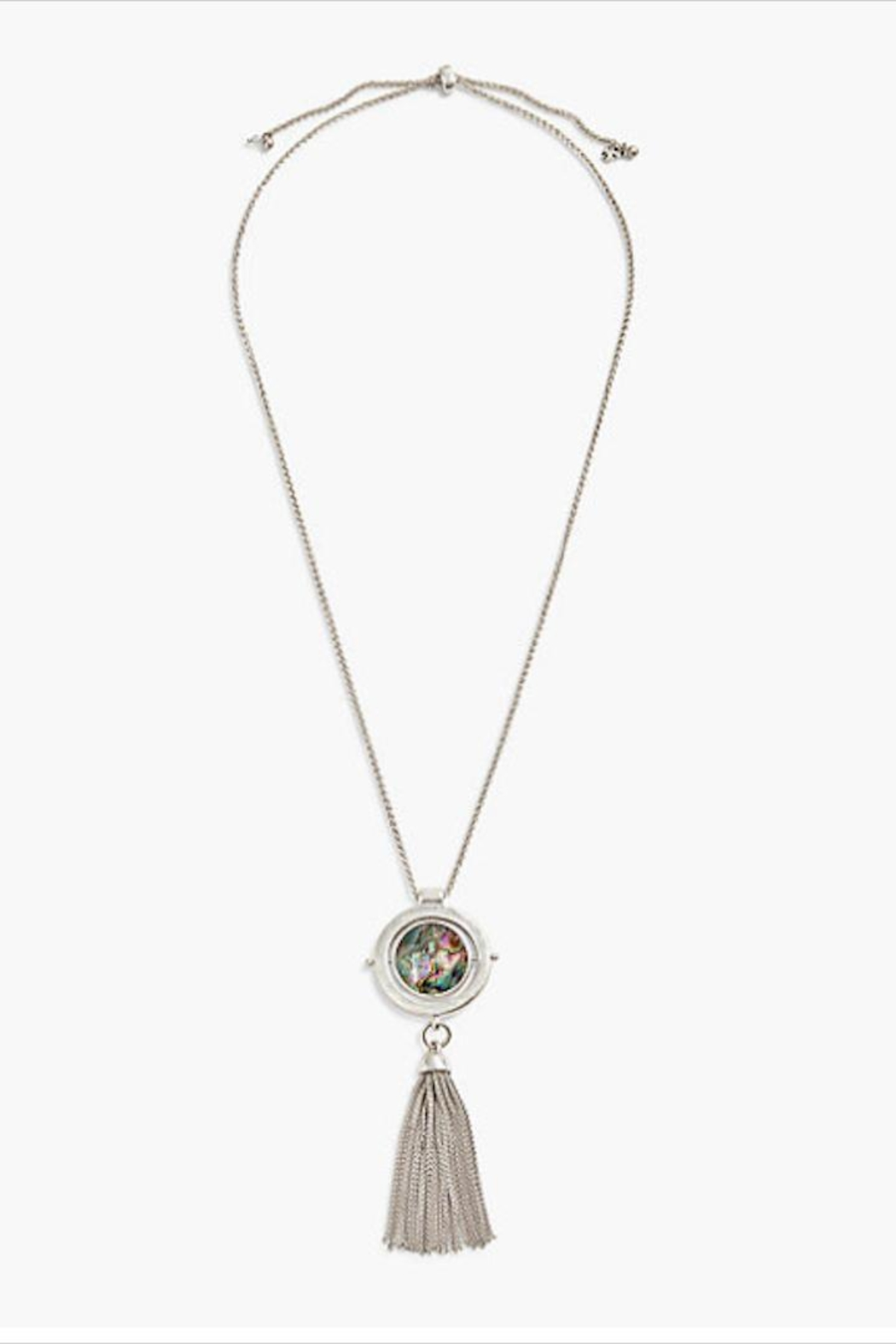 Lucky Brand Reversable Pendant Necklace - Main Image