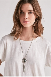 Lucky Brand Reversable Pendant Necklace - Side cropped