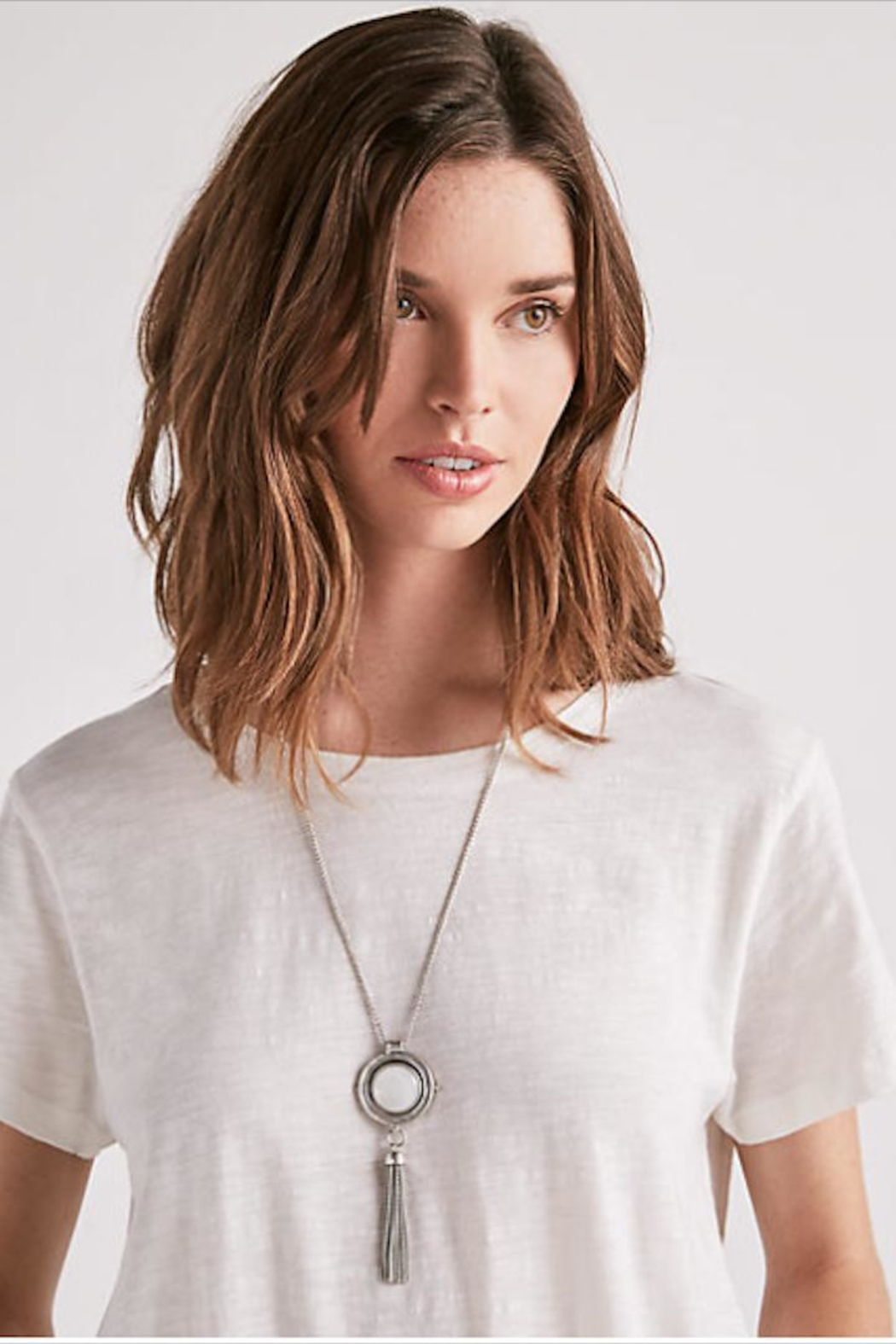 Lucky Brand Reversable Pendant Necklace - Front Full Image