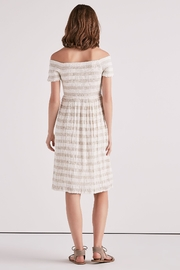 Lucky Brand Smocked Midi Dress - Back cropped