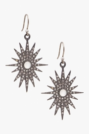 Lucky Brand Star Burst Earrings - Product Mini Image