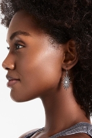 Lucky Brand Star Burst Earrings - Front full body
