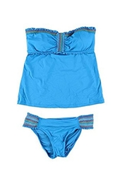 Lucky Brand Stitched Ruffled Bandeau - Product Mini Image