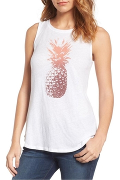 Lucky Brand Sunset Pineapple Top - Product List Image