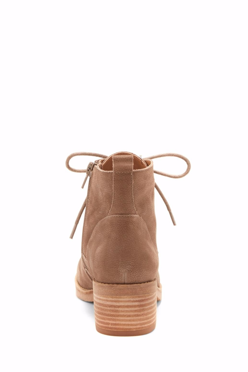 Lucky Brand Tamela Lace-Up Bootie - Back Cropped Image