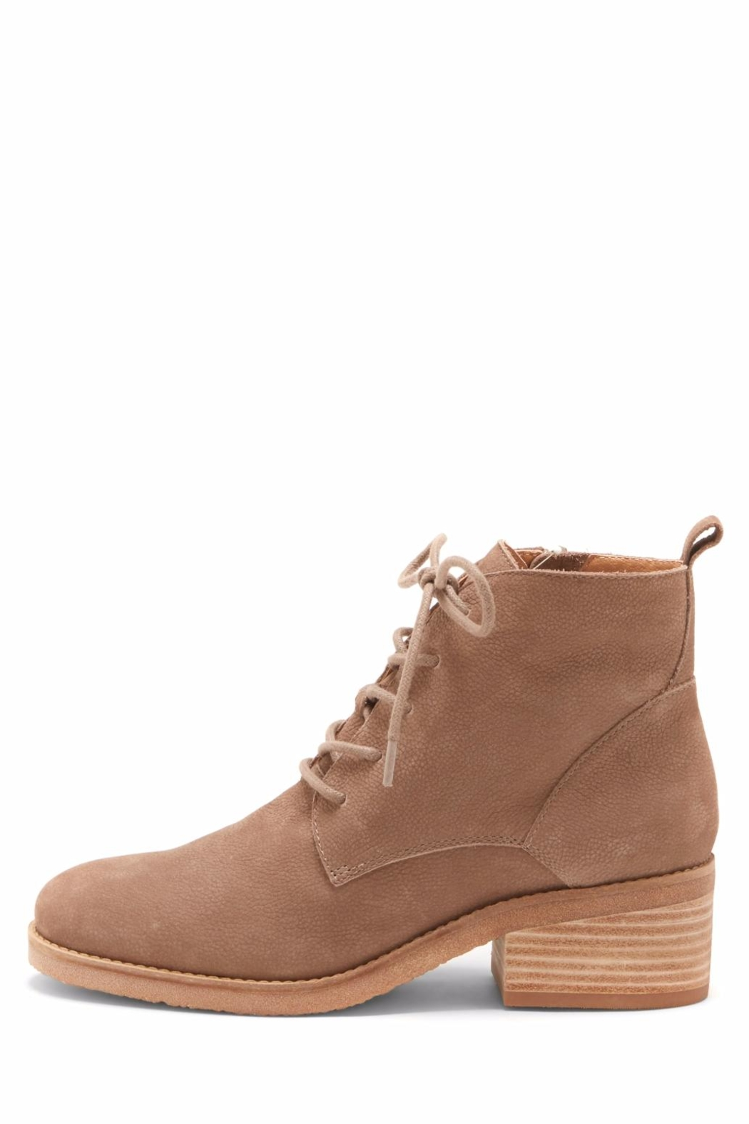 Lucky Brand Tamela Lace-Up Bootie - Front Cropped Image