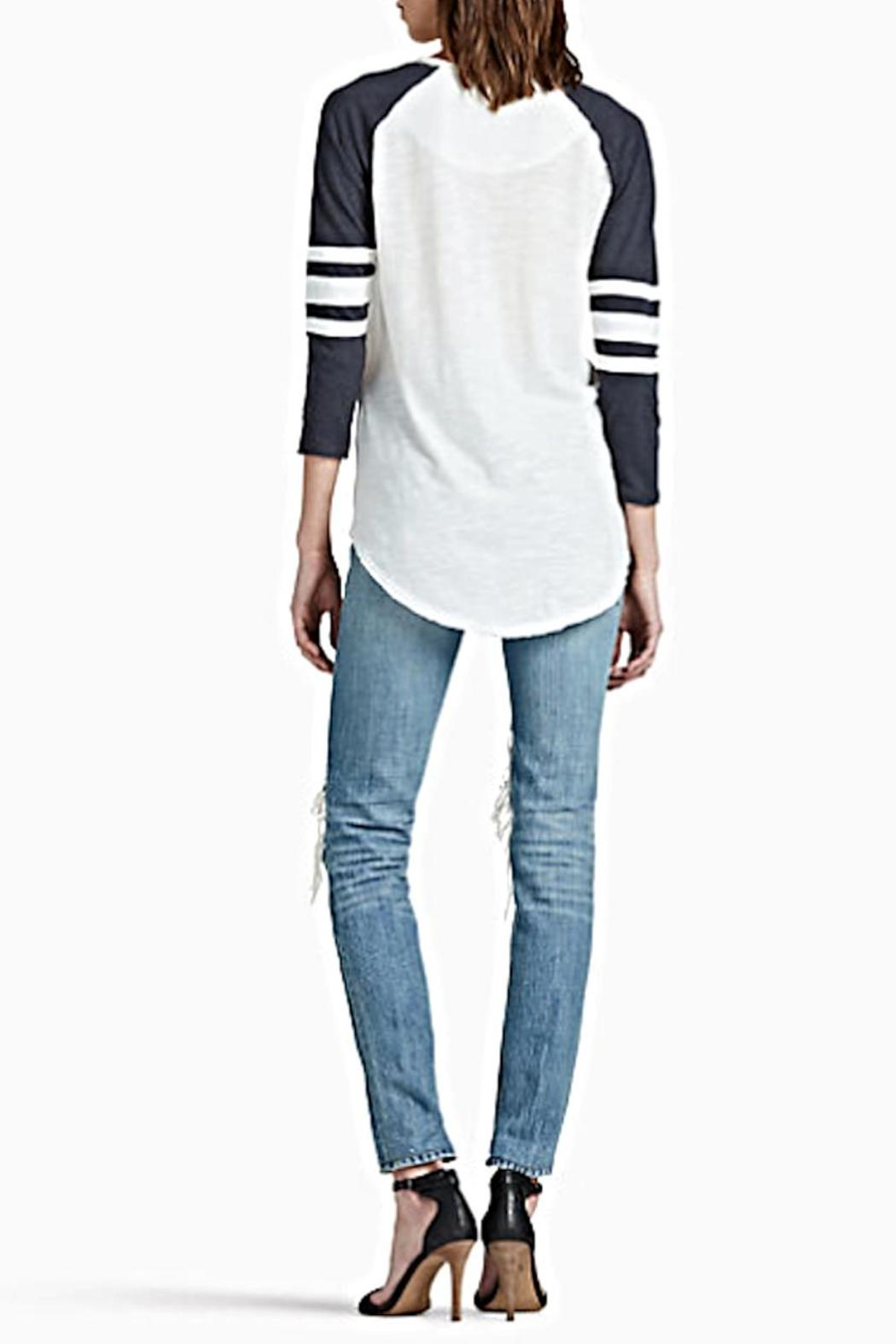 Lucky Brand Triumph Footbal Tee From Oregon By Patina Soul