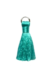 Lucky Feather Cute Aqua Tassel - Product Mini Image