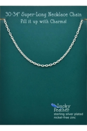 Lucky Feather Charm Builder Chain - Front cropped