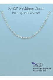 Lucky Feather Charm Builder Chain - Product Mini Image