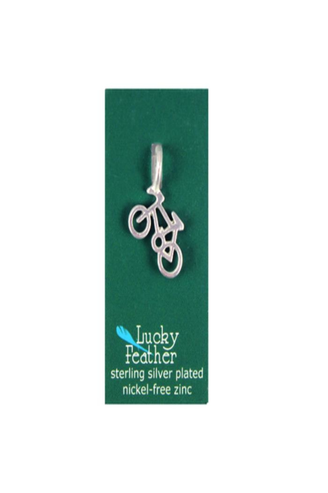 Lucky Feather Cute Bicycle Bike - Front Full Image