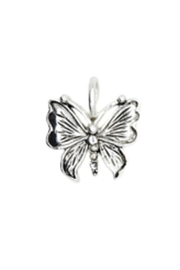 Lucky Feather Cute Butterfly Charm - Product Mini Image
