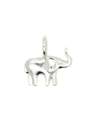 Lucky Feather Cute Elephant Charm - Product Mini Image