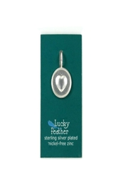 Lucky Feather Cute Round Heart - Product Mini Image