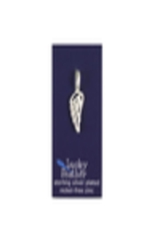 Lucky Feather Cute Wing Charm - Front full body