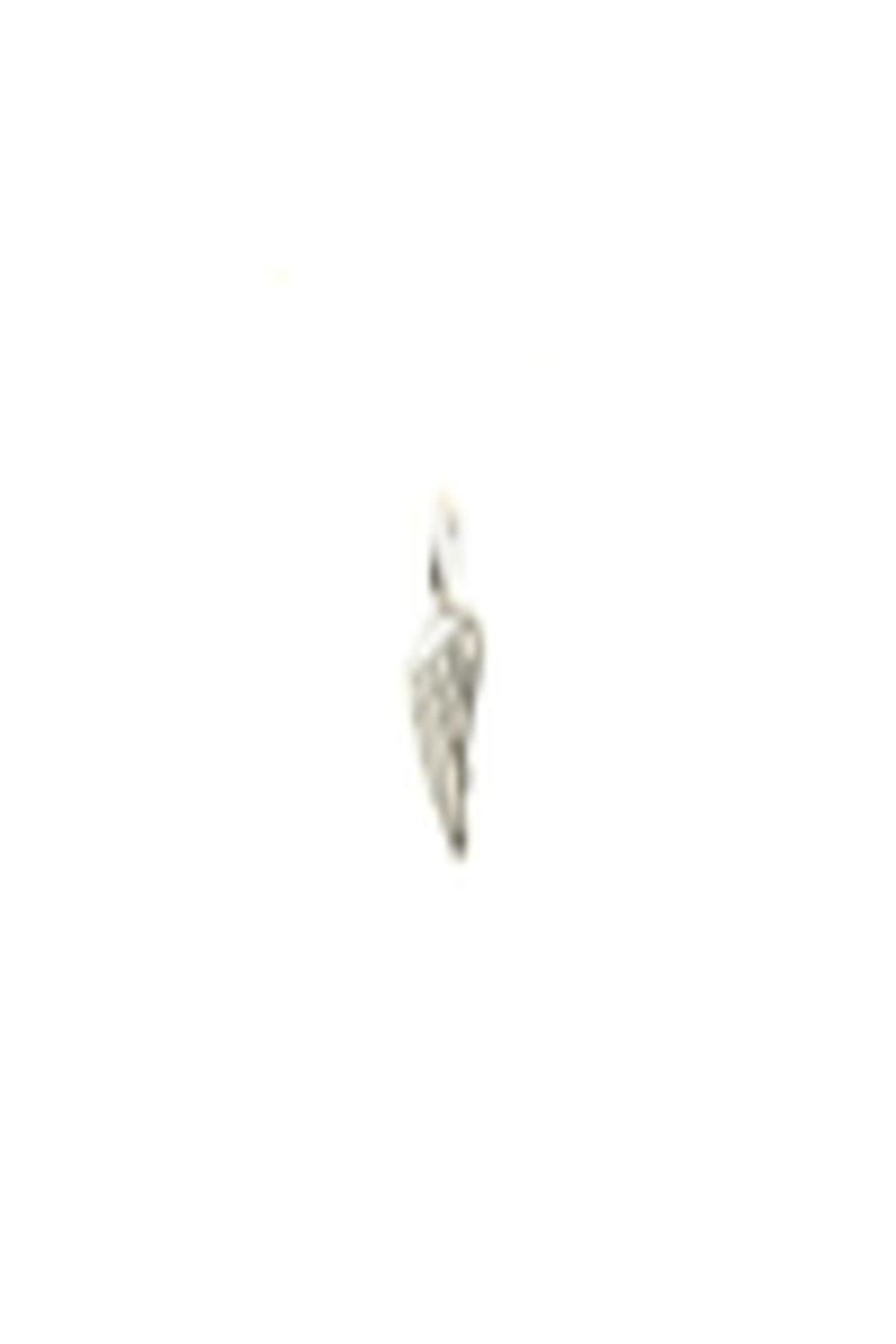 Lucky Feather Cute Wing Charm - Front Cropped Image