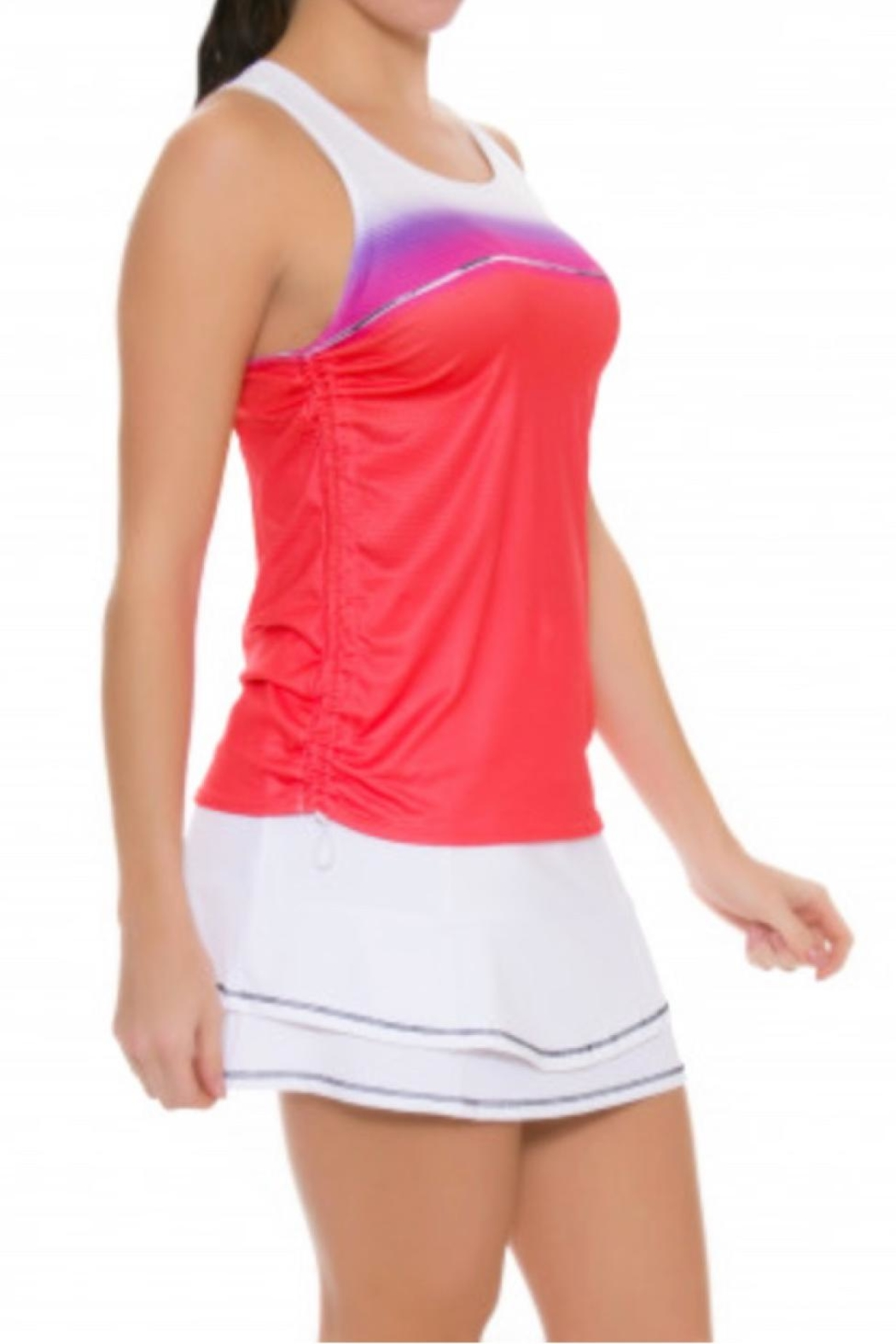 Lucky in Love Colorblock Tank - Front Full Image