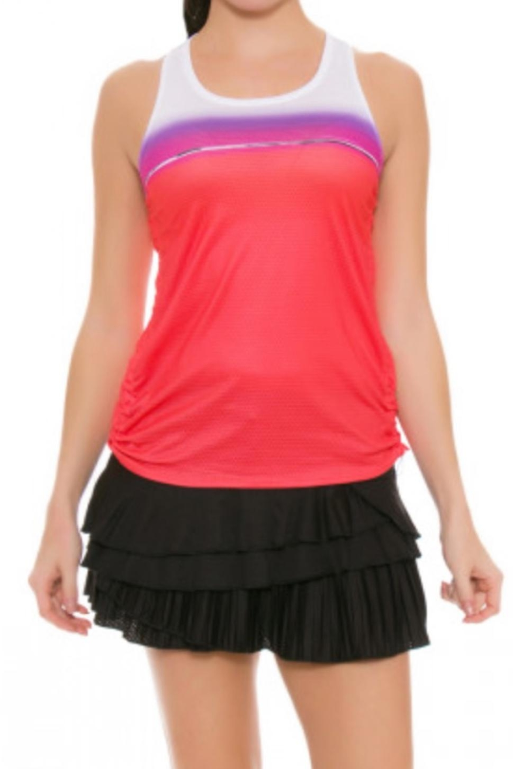 Lucky in Love Colorblock Tank - Main Image