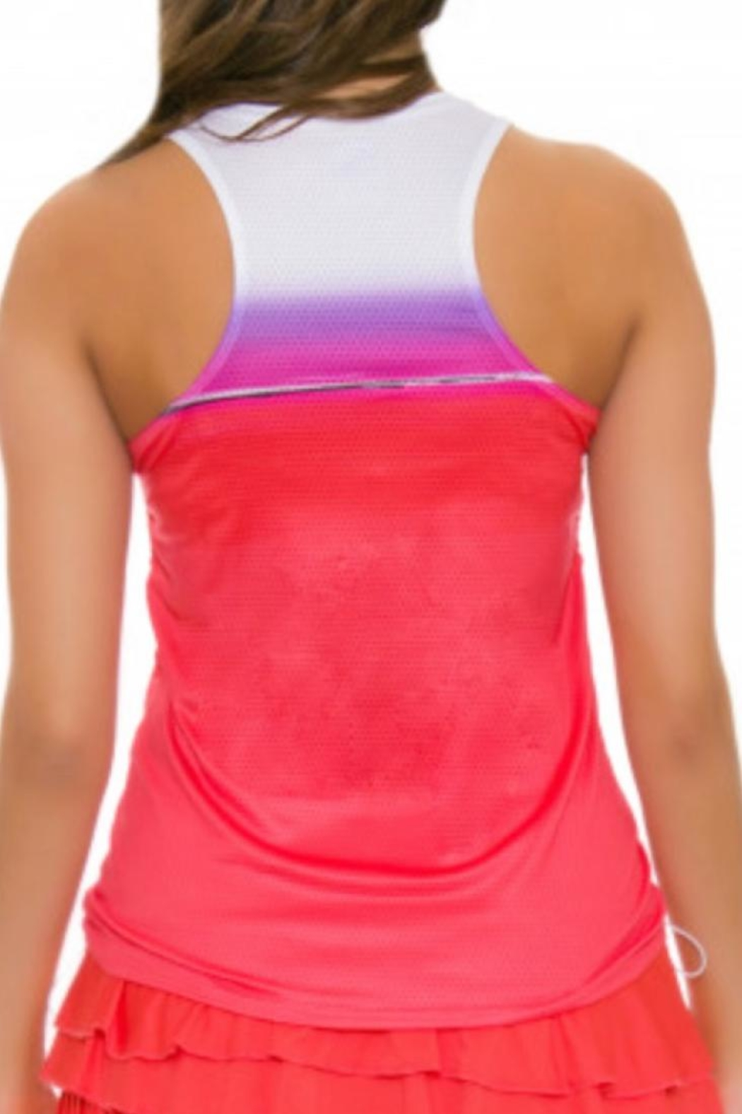 Lucky in Love Colorblock Tank - Side Cropped Image
