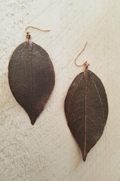 Lucky You Leaf Drop Earrings - Product List Image
