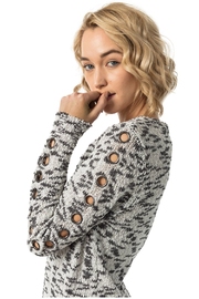 Astars Lucy Arm Grommet Sweater - Product Mini Image