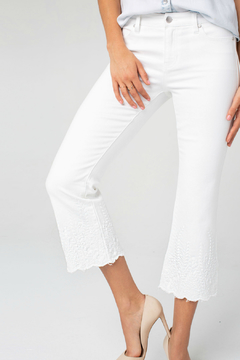 Liverpool Lucy crop flare crop jeans - Product List Image