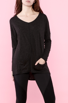 Shoptiques Product: Black Long Sleeve Top