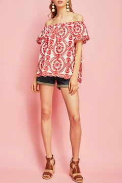 Shoptiques Product: Lucy Embroidered Top