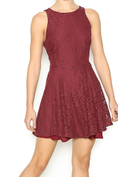 Lucy Love Holly Jean Sangria Dress - Product List Image