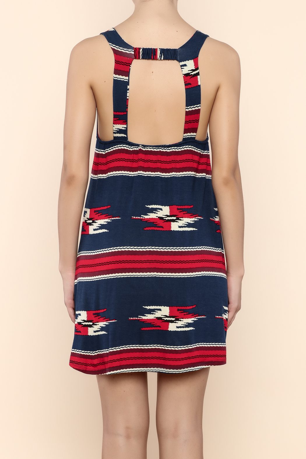 Lucy Love Rosarita Motel Mexico Dress - Back Cropped Image