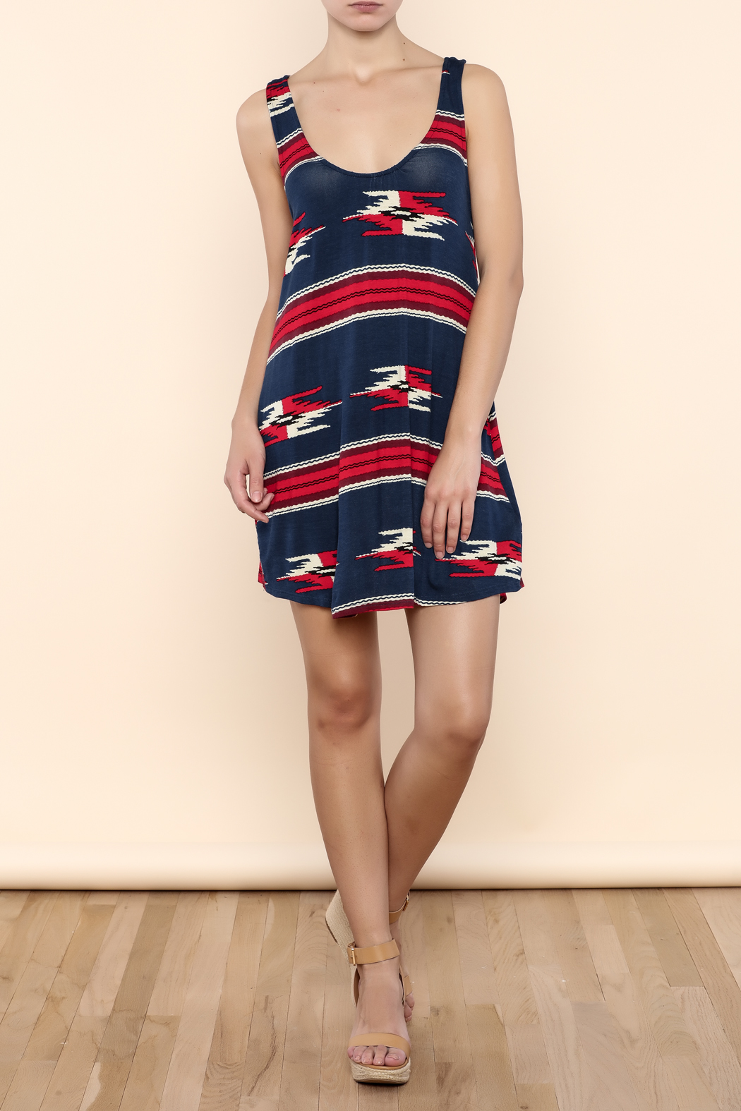 Lucy Love Rosarita Motel Mexico Dress - Front Full Image