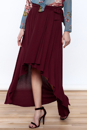 Lucy Love Sangria Wrap Skirt - Product Mini Image