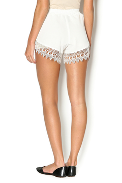 Lucy Love Whip Cream Scallop Shorts - Alternate List Image