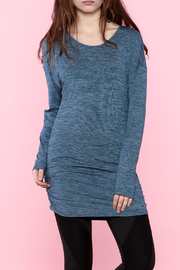 Lucy Purple Long Sleeve Tunic - Product Mini Image