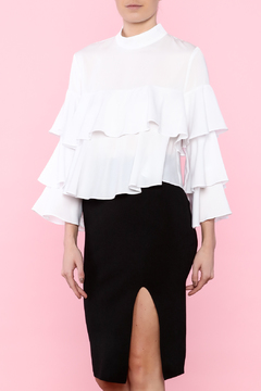Shoptiques Product: Fun & Frilly Blouse