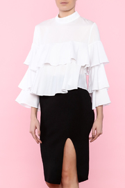 Lucy Paris Fun & Frilly Blouse - Product Mini Image