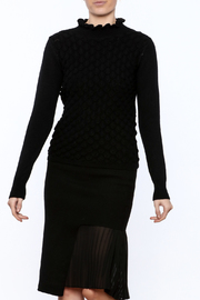 Lucy Paris Long Sleeve Mock Turtleneck Sweater - Product Mini Image