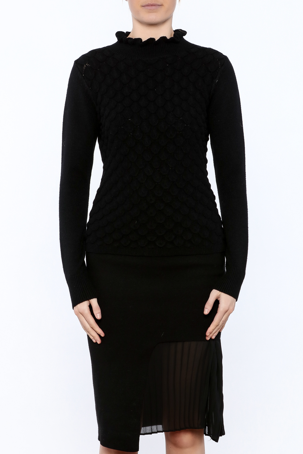 Lucy Paris Long Sleeve Mock Turtleneck Sweater from Chicago by ...