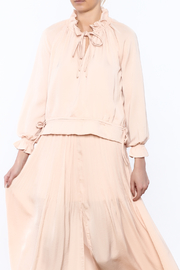 Lucy Paris Blush Olivia Blouse - Product Mini Image