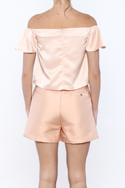 Lucy Paris Peachy Keen Top - Back cropped