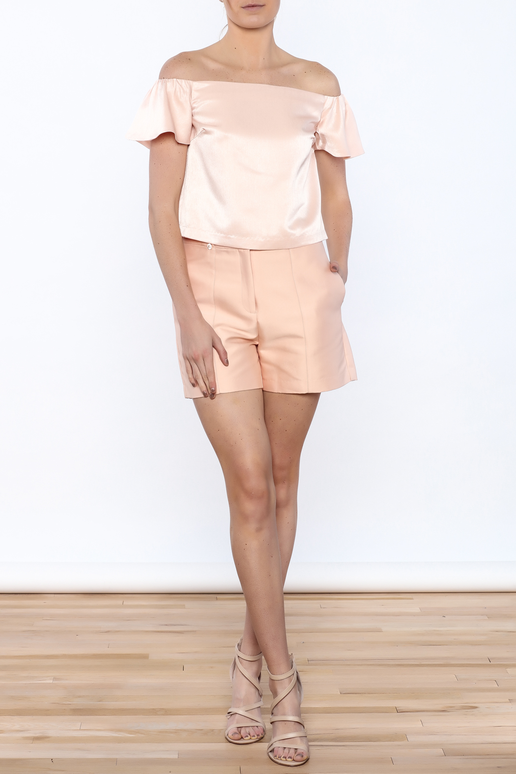 Lucy Paris Peachy Keen Top - Front Full Image