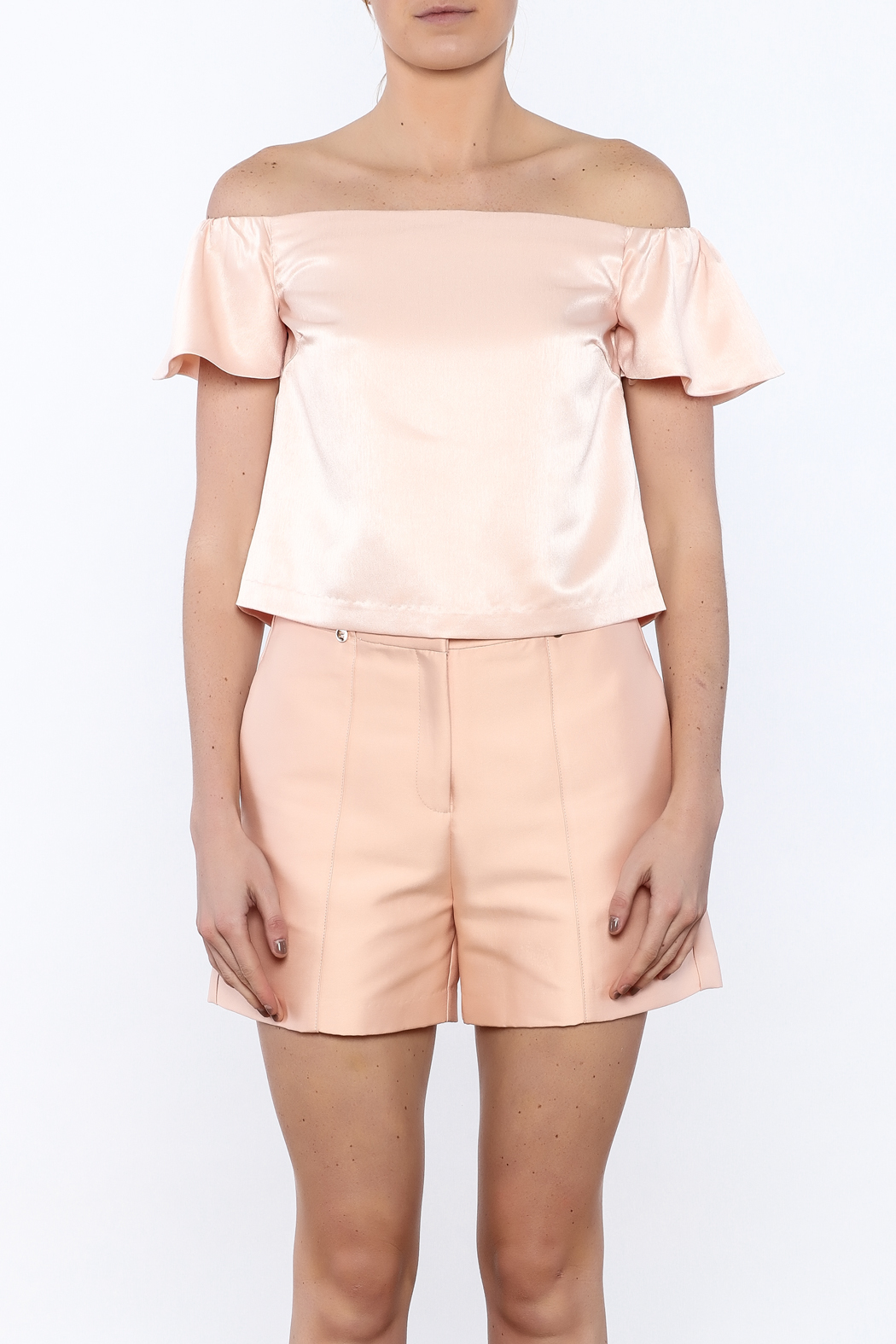 Lucy Paris Peachy Keen Top - Side Cropped Image