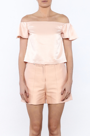 Lucy Paris Peachy Keen Top - Side cropped